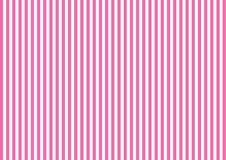 Gestreept patroon met verticale lijn in roze Royalty-vrije Stock Foto