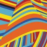Gestreept Pop Abstract Streeppatroon Royalty-vrije Stock Afbeeldingen