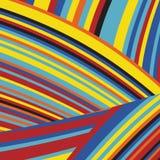 Gestreept Pop Abstract Streeppatroon Stock Afbeeldingen