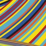 Gestreept Pop Abstract Streeppatroon Royalty-vrije Stock Afbeelding