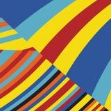 Gestreept Pop Abstract Streeppatroon Stock Foto's
