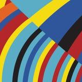 Gestreept Pop Abstract Streeppatroon Stock Foto