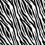 Gestreept Strepen Naadloos Patroon Gestreepte druk, dierlijke huid, tijgerstrepen, abstract patroon, lijnachtergrond, stof Verbaz royalty-vrije illustratie