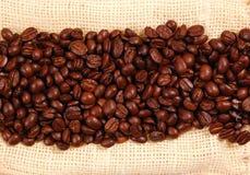 Gestreept van koffie Stock Fotografie