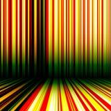Gestreepte abstracte achtergrond stock illustratie