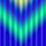 Gestreepte Blauwgroene Samenvatting Vector Illustratie