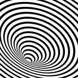 gestreepte geometrische spiraal stock illustratie