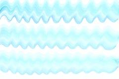 Gestreepte golf kleurrijke blauwe waterverf Stock Afbeelding