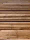 Gestreepte houten textuur Stock Afbeeldingen