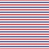 Gestreepte marine en rode kabels heldere naadloze achtergrond stock illustratie