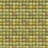 Gestreepte mozaïekachtergrond in veelvoudige groene geel Royalty-vrije Stock Foto