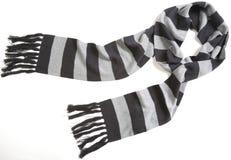 Gestreepte sjaal stock afbeeldingen