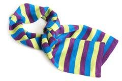 Gestreepte sjaal Stock Foto's