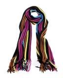 Gestreepte sjaal Royalty-vrije Stock Afbeelding