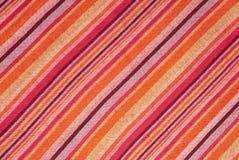 Gestreepte Sjaal voor de Textuur van de Stof Stock Foto's