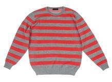Gestreepte sweater Stock Afbeeldingen