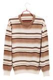 Gestreepte sweater royalty-vrije stock afbeelding