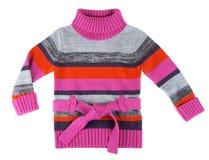Gestreepte sweater voor kinderen Stock Afbeeldingen