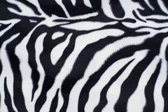 Gestreepte textuur met beige wit en zwart Stock Afbeelding