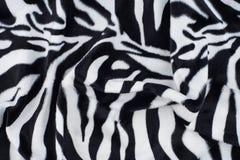Gestreepte textuur met beige wit en zwart Royalty-vrije Stock Afbeeldingen