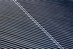 Gestreepte textuur van metaal Royalty-vrije Stock Afbeelding