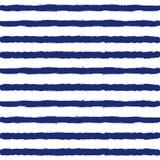 Gestreepte Zeeman Suit Seamless Pattern Stock Afbeeldingen