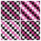 Gestreifte abstrakte Muster Lizenzfreies Stockbild
