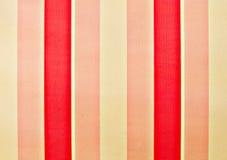 Gestreifte rosafarbene Wandbeschaffenheit Stockfoto