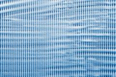 Gestreifte Seifenlauge der blauen Farbe Stockfotos
