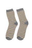 Gestreifte Socken Stockbilder