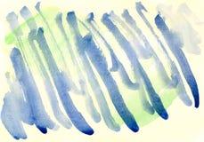 Gestreifter Aquarellhintergrund Stockbilder