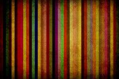 Gestreifter Hintergrund der Weinlese Stockbild