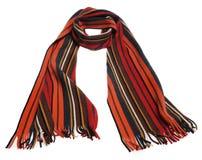 Gestreifter Schal der Farbe lizenzfreies stockfoto