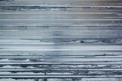 Gestreifter Stahlblechtafelbauhintergrund stockbild