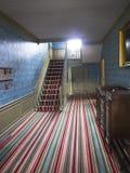 Gestreifter Teppich Stockbild