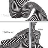 Gestreiftes Designhintergrundse vektor abbildung