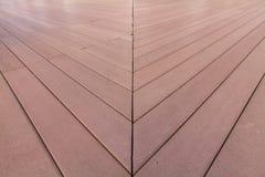 Gestreiftes Holz der Perspektive lizenzfreies stockbild