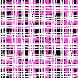 Gestreiftes Muster der Weinlese mit gebürsteten Linien Lizenzfreies Stockbild