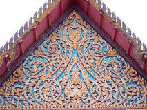 Gestreiftes Muster Thailands Lizenzfreie Stockbilder