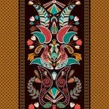 Gestreiftes nahtloses Muster Version ENV-8 Bunte dekorative Grenze Dekorative Verzierung Lizenzfreie Stockfotos