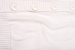 Gestrickte weiße Jerseybeschaffenheit Lizenzfreie Stockfotografie