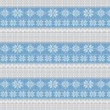 Gestrickter Winterhintergrund Stock Abbildung