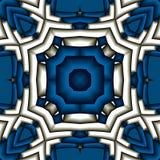 Gestructureerde mandala Royalty-vrije Stock Afbeelding