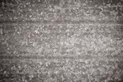 Gestructureerde metaaloppervlakte stock afbeelding