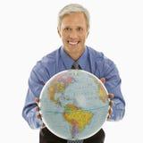 gestu globe ludzi Zdjęcie Royalty Free