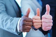 Gesture of approval Stock Image