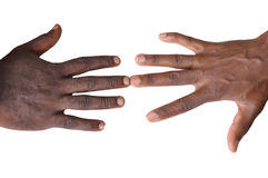 Gesture of fingers and hands. The gesture of the fingers and hands is a veritable language, and may be a part of non-verbal communication which may be used in Royalty Free Stock Photography