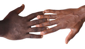 Gesture of fingers and hands. The gesture of the fingers and hands is a veritable language, and may be a part of non-verbal communication which may be used in Royalty Free Stock Image