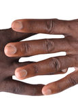 Gesture of fingers and hands. The gesture of the fingers and hands is a veritable language, and may be a part of non-verbal communication which may be used in Stock Images