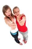 gesture giving ok women Стоковое Изображение RF